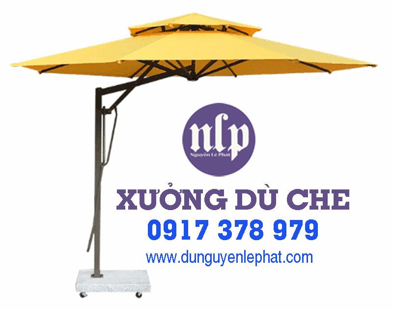 Giá Mẫu Dù Lệch Tâm Quán Cafe Bao Nhiêu tại Quận 8 TPHCM