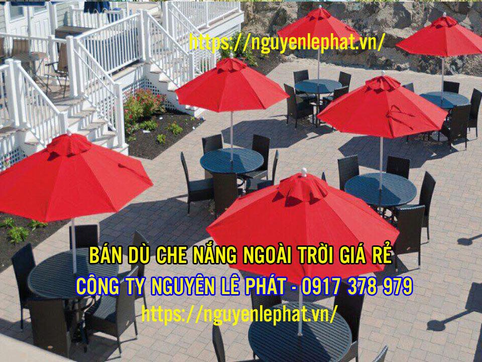 Dù Che Nắng Quán Cafe tại Bình Thuận