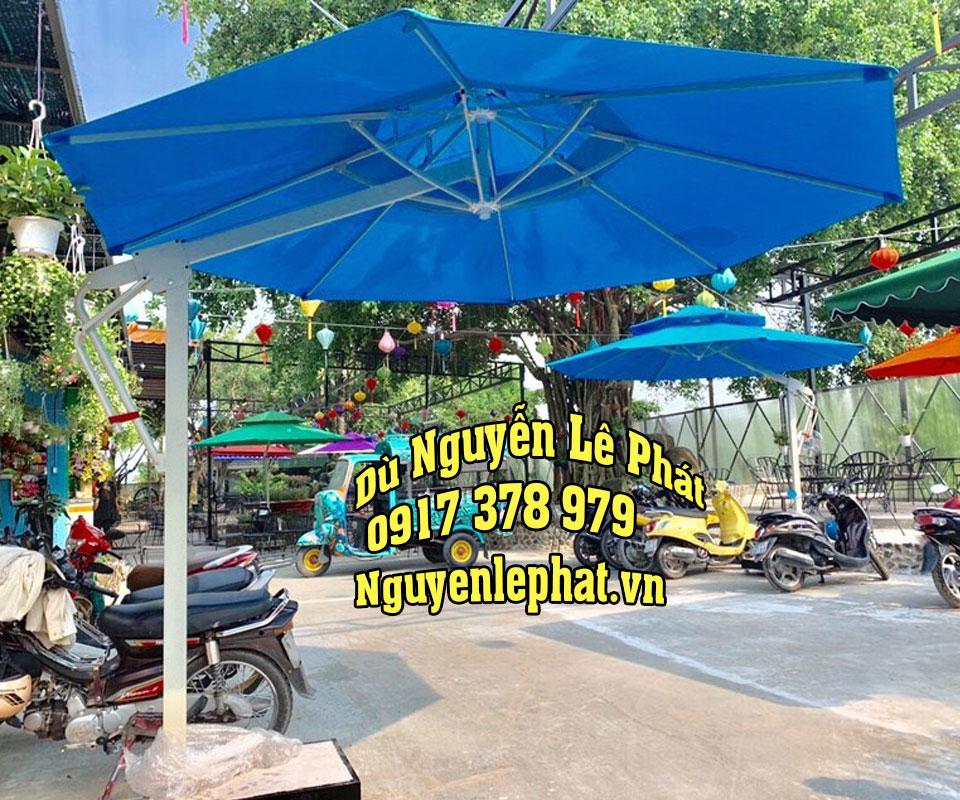Dù Lệch Tâm Che Quán Cafe Giá Rẻ