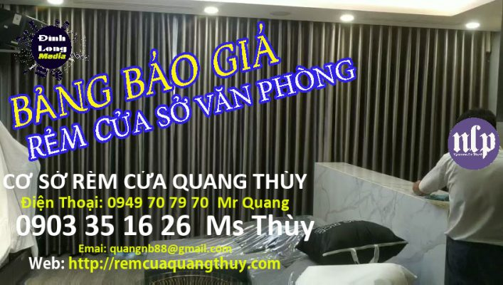 Màn Rèm Cửa Số Văn Phòng Giá Rẻ Tại Gò Vấp TPHCM