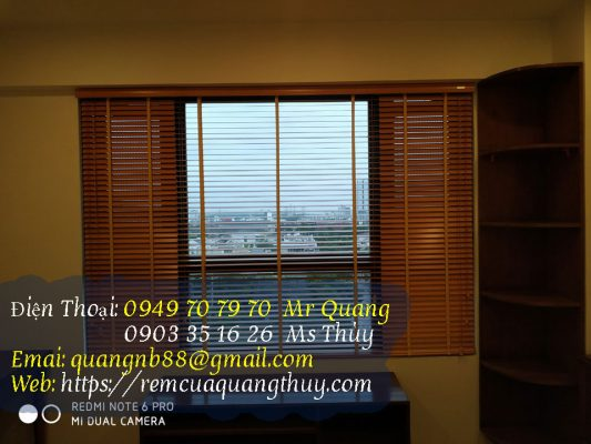 Làm rèm cửa sổ Dĩ An Bình Dương
