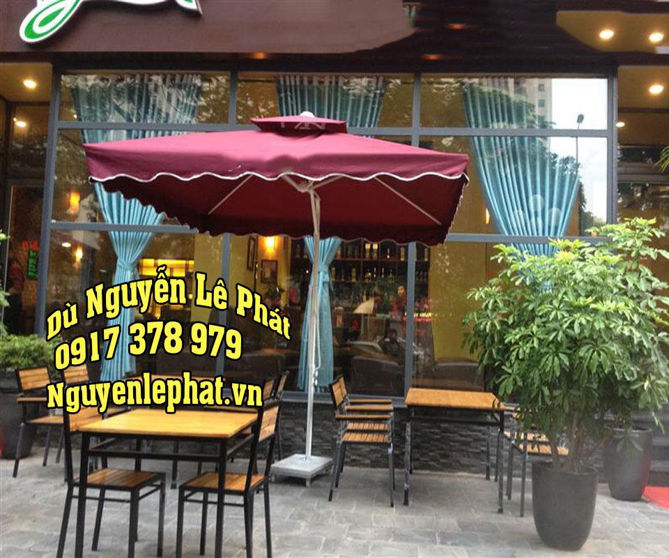 Dù che nắng quán cafe Bến Cát Thủ Dầu Một