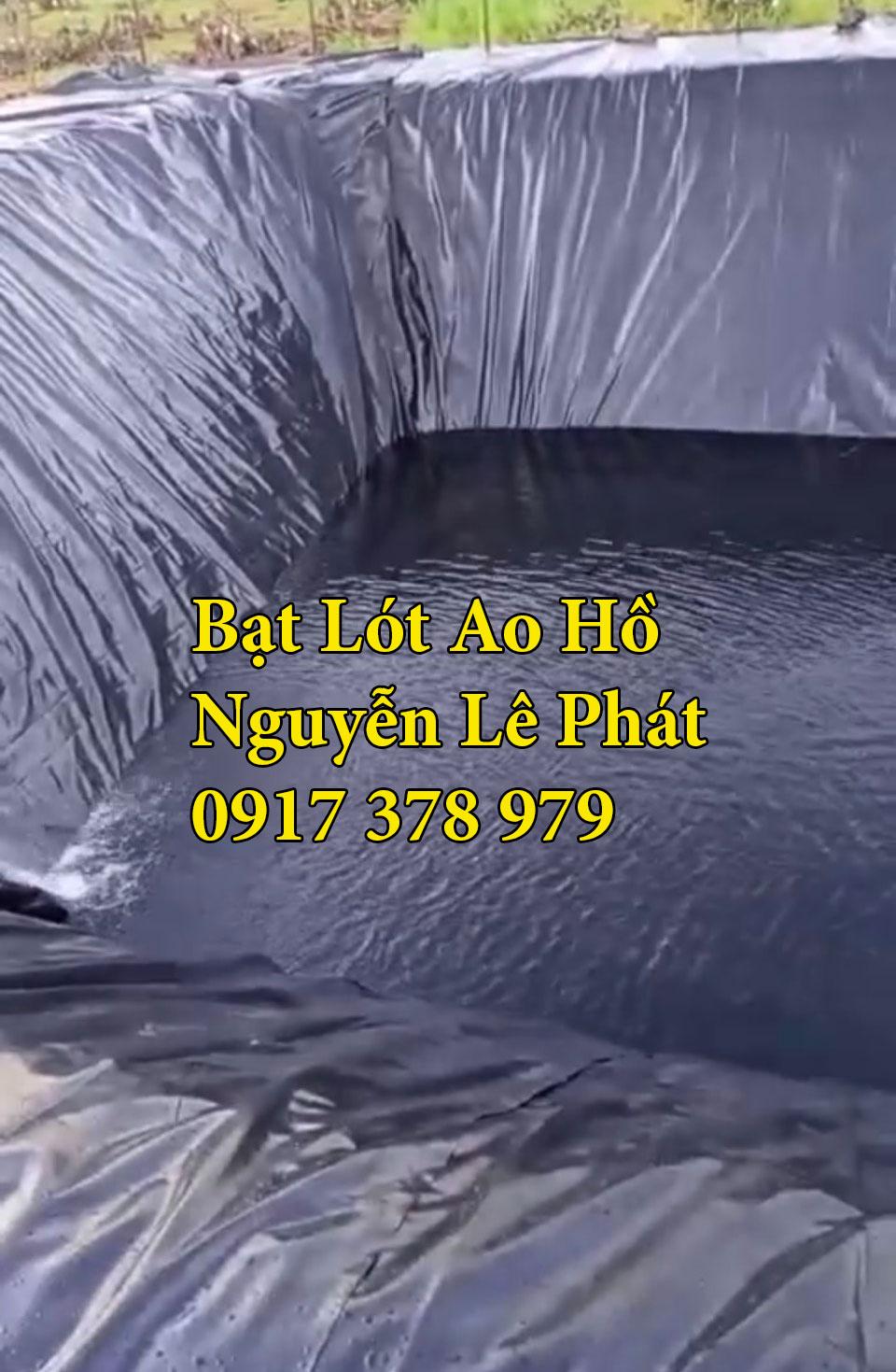 Đơn vị cung cấp bạt nhựa hdpe lót ao hồ nuôi tôm Kiên Giang Phú Quốc