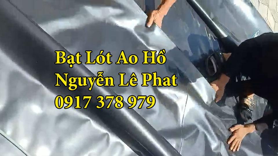 Bạt lót ao hồ chứa nước nuôi cá Xuân lộc Đồng Nai
