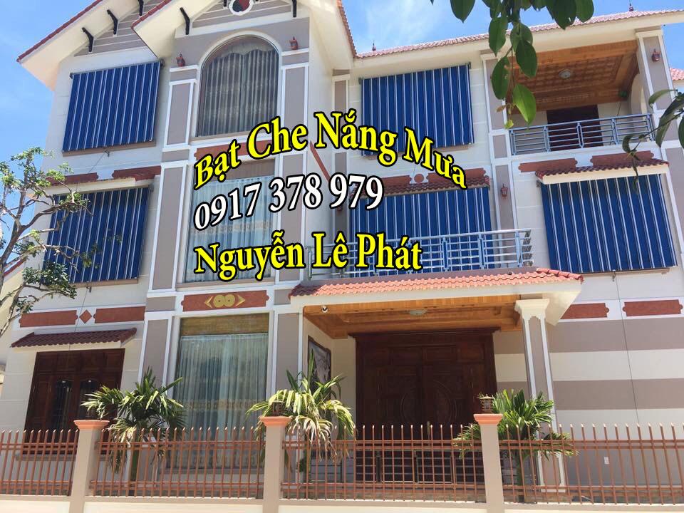 Rèm che ban công chung cư tại Phú Nhuận