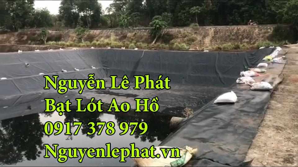 Bạt lót ao hồ chứa nước nuôi cá Cẩm Mỹ Đồng Nai